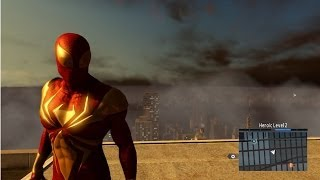 The Amazing Spider-Man 2 - Iron Spider Costume Free Roam Gameplay [HD]