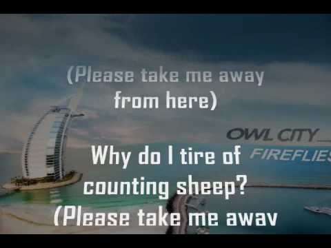 Fireflies - Owl City - Karaoke