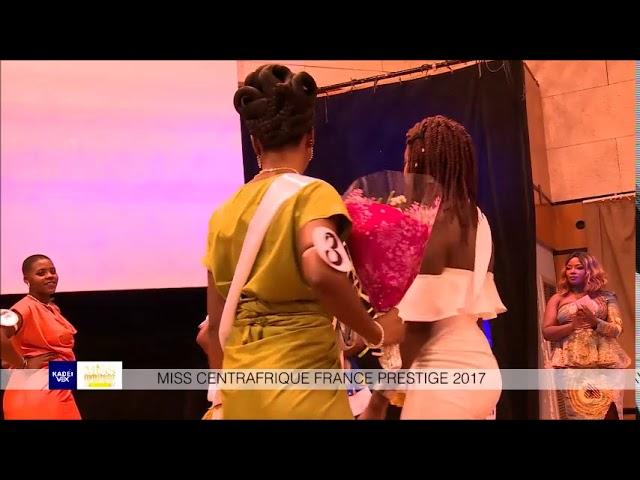 ELECTION MISS CENTRAFRIQUE FRANCE PRESTIGE 2018