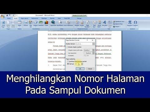 vidio ini menjelaskan bagaimana cara menghapus sebuah halam kosong (blank page)yang ada di document word. terkadang....