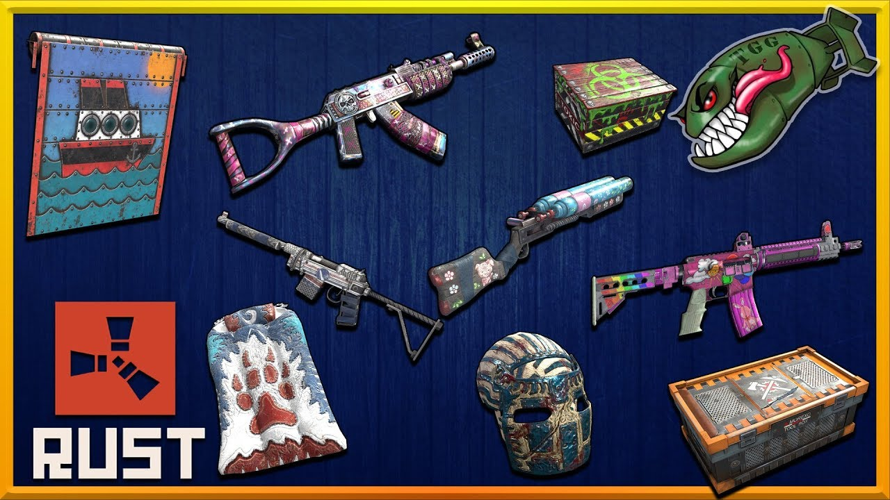 Rust Skins | Northwind HQ, Apocalyptic Knight AK, Shippy Door, Cobalt SAR  #130 (Rust Skin Preview)