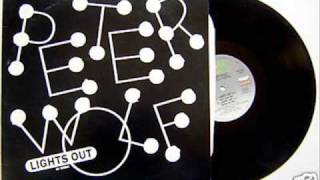 "Peter Wolf ""Lights Out"" 12 inch mix extended version"