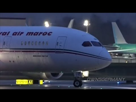 1st Royal Air Maroc Boeing 787 Dreamliner Delivery Flight @ KPAE Paine Field