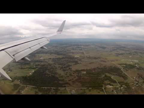 Landing in Tulsa Oklahoma