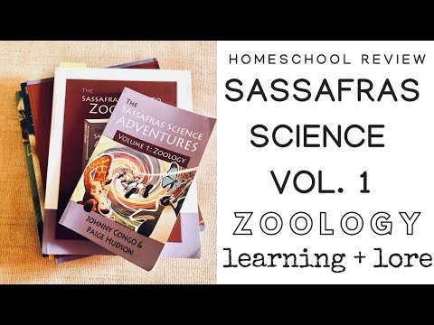 Homeschool Science Curriculum Review: Sassafras Science Zoology || Learning and Lore 2018
