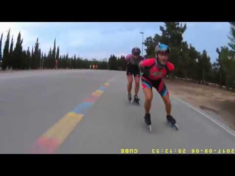 entrenamiento speed skating la pobla (valencia) - 08-2017