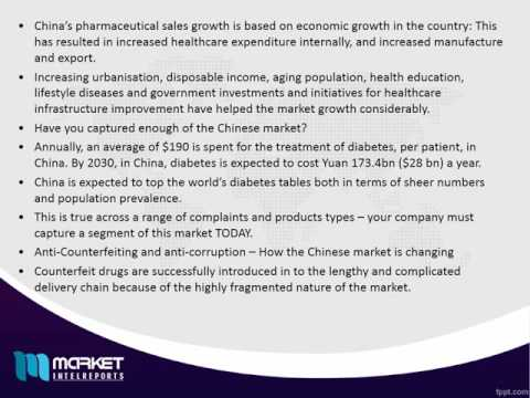 Chinese Pharmaceutical Market to 2024 - Commercial & Strategic developments