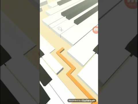 Линия Танца. Dancing line.Пианино. Прохождение.Музыка.Танцы.Игра.
