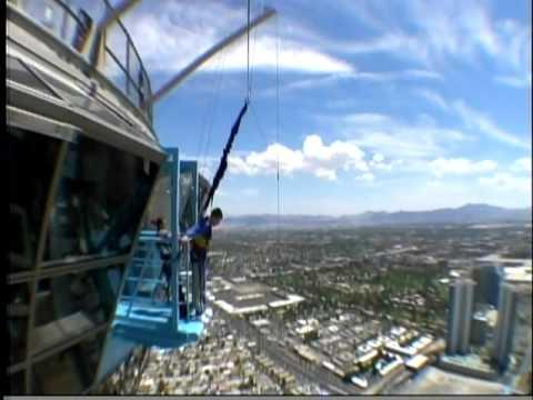 Sky Jump - Stratosphere - Las Vegas, NV - YouTube