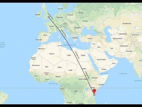 11735 Zanzibar Broadcasting Corporation (Swahili), Dole TZA, 7442 km