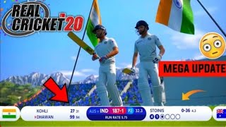 😱OMG ! Real Cricket 20 Brand New Surprise | New World Cup 2019 Scoreboard | Hat-trick Celebration |