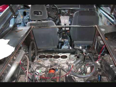 Mid engine RWD conversion b20 turbo Honda CRX build, drag racing