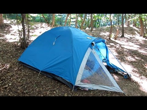 Обзор лучшей туристической палатки
