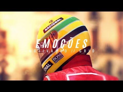 Melhor video MOTIVACIONAL -  Por Ayrton Senna - Somos feitos de Emoções  [ Motivação ]