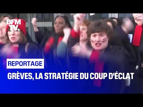 Grèves, la stratégie