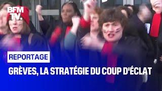 Grèves, la stratégie du coup d'éclat