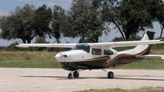 Okavango Delta Bush Pilots Cessna 210 Maun - Vumbura HD