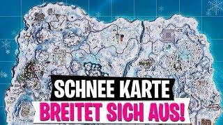 * UPDATE * whole map in snow! Fortnite Battle Royale