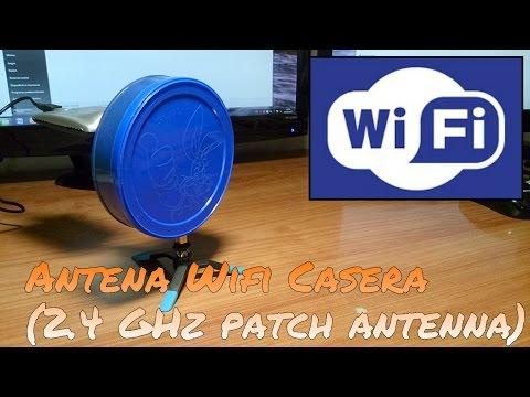CÓMO HACER UNA ANTENA WIFI PLANA (2.4 GHz PATCH ANTENNA)