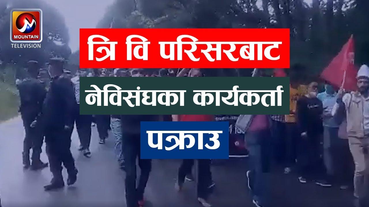Download त्रिभुवन विश्वविद्यालय परिसरबाट नेविसंघका कार्यकर्ता पक्राउ | Nepal news Today | MTV