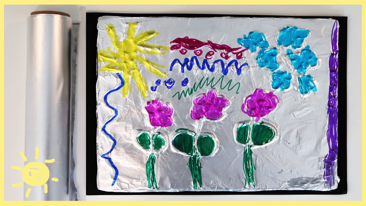 play-aluminum-foil-3d-drawings