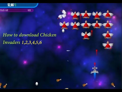 How To Download Chicken Invaders 1,2,3,4,5,6 Full Version Free Download In Pc By Technology