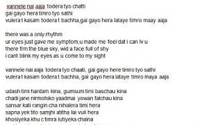 aakha vari aashu kina--Jabeek KC----(cover by Nabin)