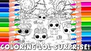 Coloring LOL Surprise! LOL Surprise Coloring Pages   Amy Jo