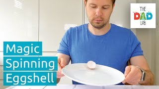 How To Make Eggshell Spin On A Plate | Fun Kids Activities