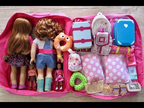American Girl Doll Travel Case and Packing For American Girl Dolls