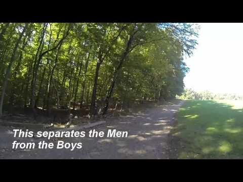First GoPro Run at Holmdel Park, NJ 10/2/13