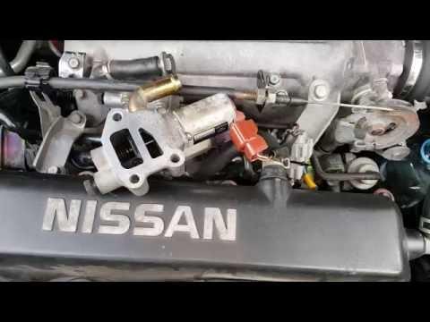 Базовая настройка КХХ клапана холостого хода Nissan Primera