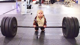 Funny Babies Doing Exercise | Try Not To Laugh |  Cute Baby Video