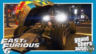 GTA 5: Fast and Furious 6 Flip Car Scene Remake (Amazing Ramp Car Mod)