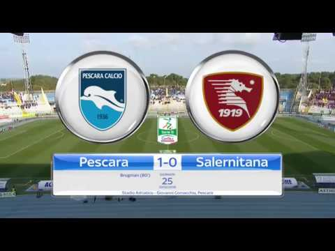 PESCARA - SALERNITANA 1-0, gli highlights #PESSAL @Lega_B