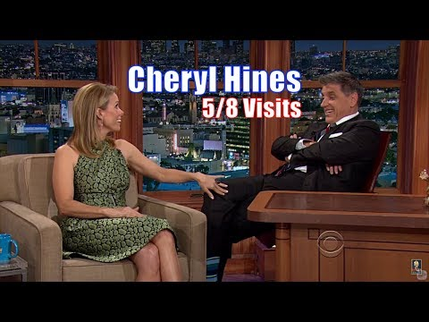 Cheryl Hines - She Strokes Craig's Odd Knee - 5/8 Visits In Chronological Order