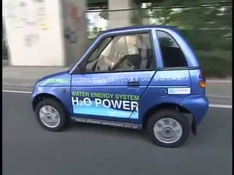 H2O to HHO water power car in Japan   YouTube 360p