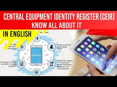 India Creates Central Equipment Identity Register To Discourage Phone Theft, Current Affairs 2019