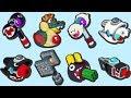 Mario + Rabbids Kingdom Battle - All Weapons