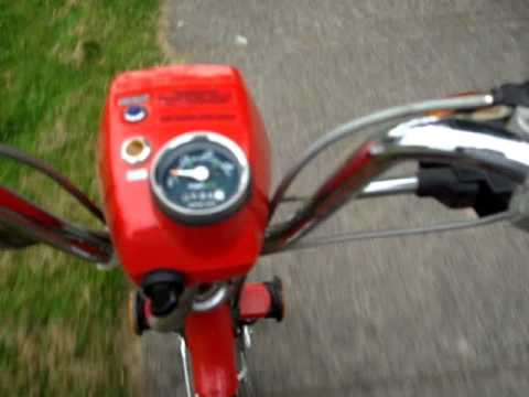 HONDA EXPRESS NC50 SCOOTER (Amazing Condition, RED)
