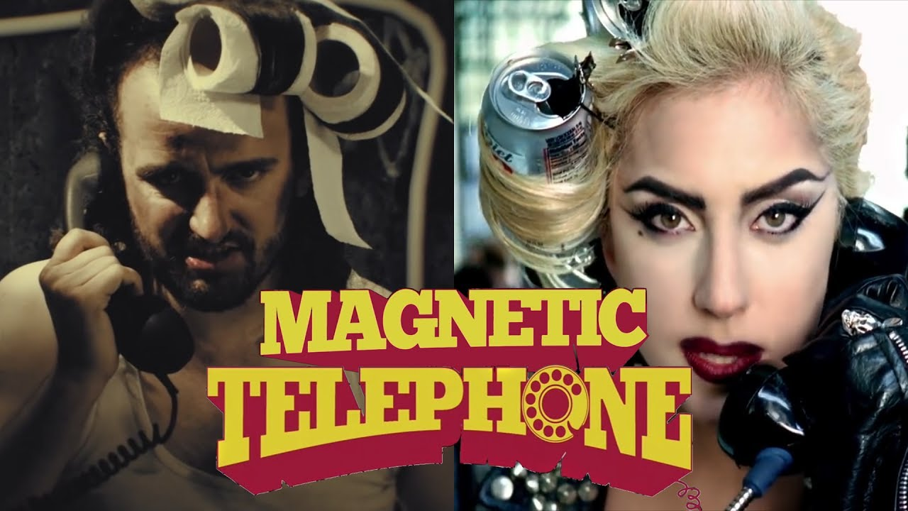 Download Alestorm ft. Lady Gaga - Magnetic Telephone (Mashup video)