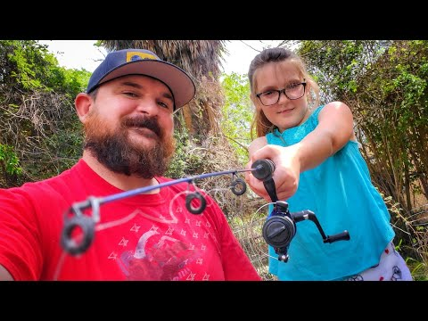 How To Cast For Kids | Learn How To Cast A Spinning Rod EASY!