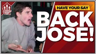 GET BEHIND MOURINHO! Bournemouth vs Manchester United Fan Reaction