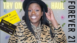 FOREVER 21 PLUS HAUL | Afforda…