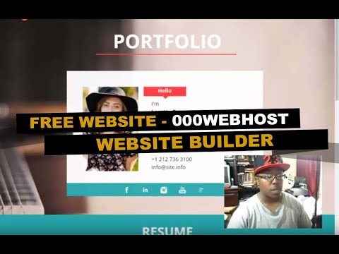 how-to-create-a-free-website-using-000webhost---site-builder-|-part-2