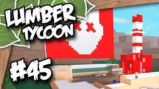 Lumber Tycoon 2 #45 - BASE IMPROVEMENTS (Roblox Lumber Tycoon)