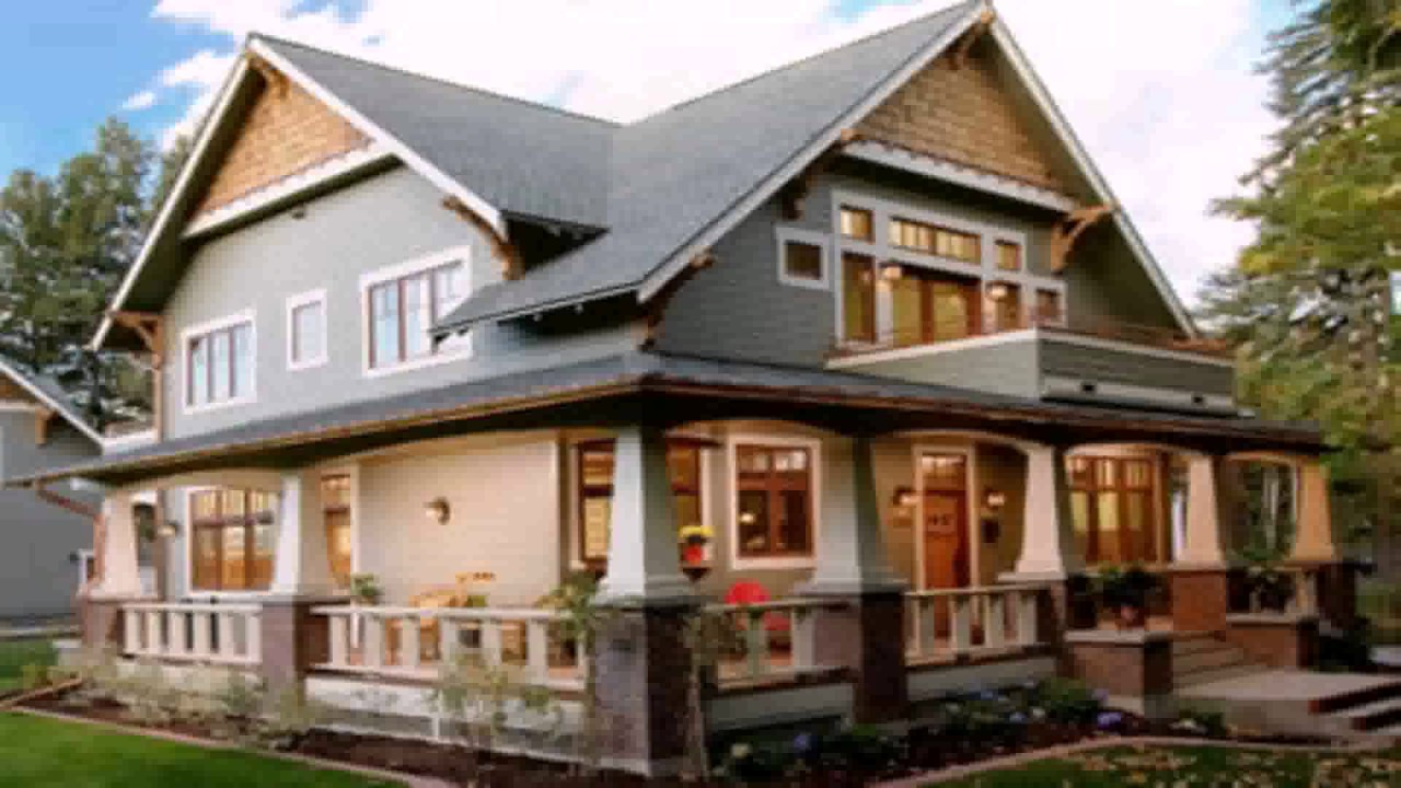 Different house styles types youtube for Pictures of different homes