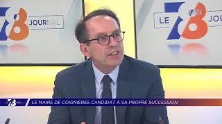 Yvelines | Le maire de Coignières Didier Fischer candidat à sa succession