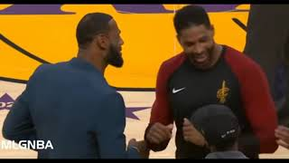LeBron James and Thompson funny moments 2019 .