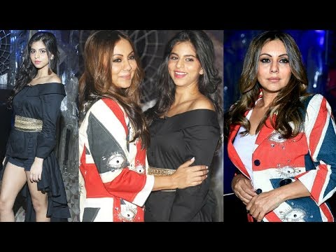Hot Suhana Khan Party With Mother Gauri Khan In Delhi